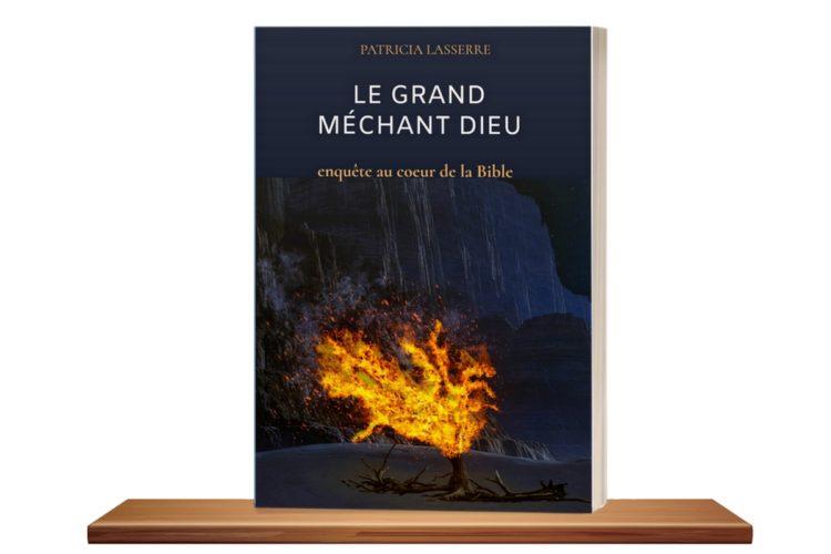 couverture du livre Le grand méchant dieu de Patricia Lasserre auteure et docteure en philosophie